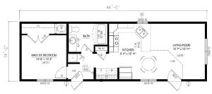 Floor Plan Single_2019_BC1444-102-C-1