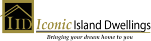 Iconic Island Dwelling Logo
