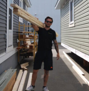 Iconic Island Dwellings, Chad Keylock, Constructions
